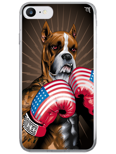 Cover BOXER MARRONE