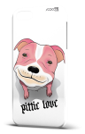 Cover pittie love pink