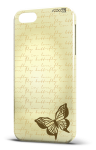 Cover butterfly letter brown
