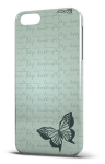Cover butterfly letter blue